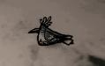 Oiseau des neiges endormi