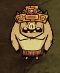 Свин в тулецитовой короне
