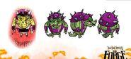 Crocommander Concept Art