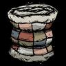 Houndbone White Patchwork Quilt Icon