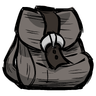 Dismal Gray Buckled Backpack Icon