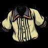 Follicle Yellow Pleated Shirt скин