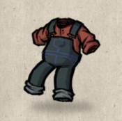 Overalls navy ocean collection icon