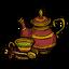 Чай во время праздника