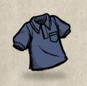 Polo blue denim collection icon