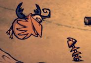 Рыбий скелет с бэггимсом
