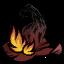 Цилиндр.Пламенная шляпа ведьмы