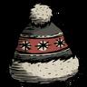 Black Winter Hat Icon
