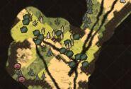 Пруд на карте