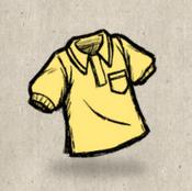 Polo yellow goldenrod collection icon