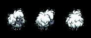 Слизовечка-снежинка в игре