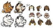 YotV Dog Skins Concept Art