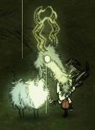 Заряженная вольт коза