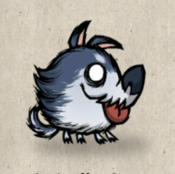 Puppy winter collection icon