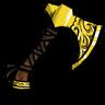 Ornate Nordic Axe Icon