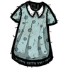 Anthropomorphic Feline Blue Nightgown скин