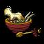 Суп на змеиной кости во время праздника