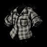 Cumulus Gray Lumberjack Shirt скин
