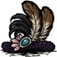 Feather Trimmed Hat пожиток