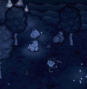 Glommer's Statue Full Moon