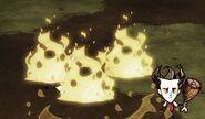 Огонь после гончихх