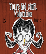Willow Valentine Card