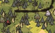 Две воронки на карте