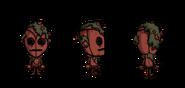 Роза WX-78 в игре