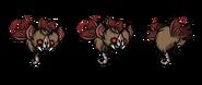 Мышелиск-вампир в игре