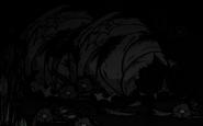 Reine araignée endormie