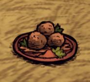 Spicy Meatballs Ground