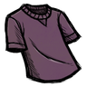 Snail Mucus Purple T-Shirt скин