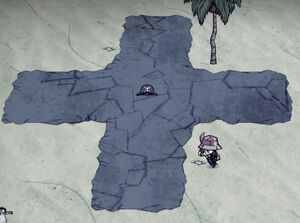 Island with dead pirates and a cross.jpg