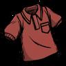 Higgsbury Red Collared Shirt скин