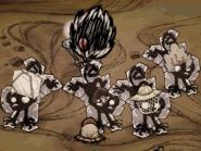 Замороженные кошмарные обезьяны