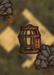 Клекта пирата на карте