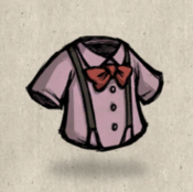 Suspenders pink pearl collection icon