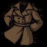 Werebeaver Brown Trench Coat скин