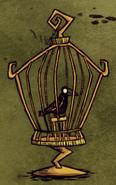 Ворон в клетке