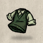 Sweatervest green forest collection icon