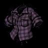 Tentacle Purple Lumberjack Shirt скин