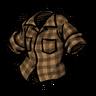 Lumberjack Orange Lumberjack Shirt скин