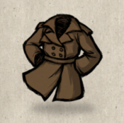 Trenchcoat brown fawn collection icon