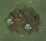 Чемодан на карте