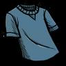 Cobaltous Oxide Blue T-Shirt скин