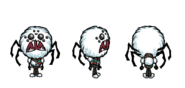 Снегопадающий Веббер в игре
