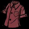 Wormgut Red Buttoned Shirt скин