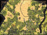 Мозаичные биомы на карте