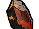 Cocobombe en obsidienne