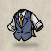 Tweedvest blue lightning collection icon